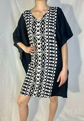 Casual Caftan Dress Gown Beach House Kaftan Dress $12.00