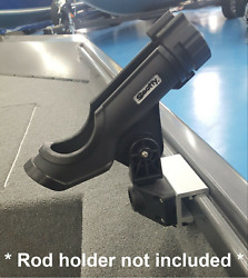 Alumacraft Rod Holder Adapter Mount Bracket fits AlumaTrac mfg by Depth Raider $39.99