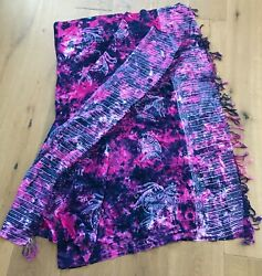 Summer Pareo Sarong Wrap Scarf Swimwear Beach Cover Up Rayon One Size 60
