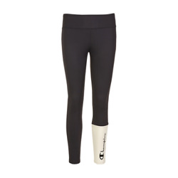 Champion Two Tone Legging Women#x27;s Black White Fitted Sportswear Activewear $30.25