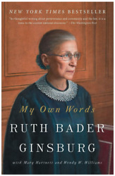 My Own Words by Ruth Bader Ginsburg Paperback Book • NEW • Biography $30.00