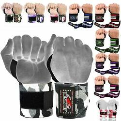 Be Smart Power Weight Lifting Wrist Wraps Support Gym Workout Bandage Straps 18quot; $7.99