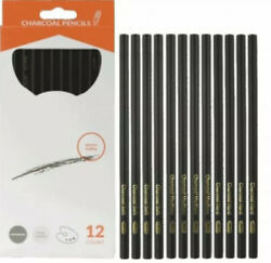 12 Pack Charcoal Pencil - Drawing Pencils $6.75
