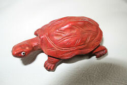 HAND CARVED TURTLE 2-12
