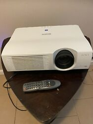 SONY VPL-PX40 LCD Home Theater Projector50 Hr On Bulb – 3500 Lumens $109.99