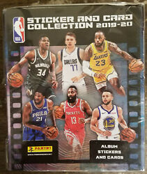 2019-20 Panini NBA Sticker Collection 50 Pack Sealed Box No Album just stickers