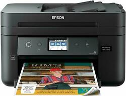 Epson WF-2860 All-in-One Wireless Color Printer w Scanner Copier  $62.20