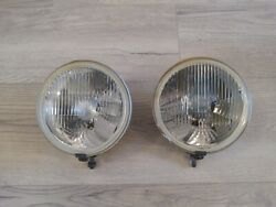 Vintage oem hella rally rallye racing large lights lamp h4 NOS fog
