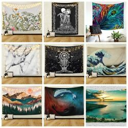 USA Trippy Mandala Hippie Tapestries Wall Hanging Room Tapestry Decor NOW STOCK $15.18