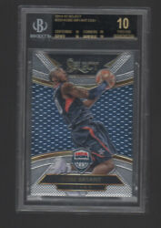 KOBE BRYANT 2014 15 PANINI SELECT COURTSIDE USA #209 BGS 10 BLACK LABEL $4400.00