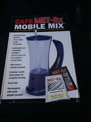 Cafe Met-RX  mobile mix rechargeable battery operated portable blender $18.99