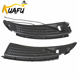 For 2009-2014 Ford F150 Ford Cowl Panel Grille Set w Seals RH & LH Pair PP