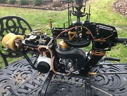 RC Helicopters A X Cell Graphite 60 W OS Max 61 AND A KYOSHO CONCEPT 46 SR $1100.00