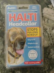 Halti Headcollar Size 4 in Black A Dog Collar that Stops Pulling Kindly  $9.99