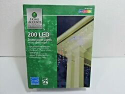 Home Accents Holiday 200 LED Multi-Color Dome Icicle Lights - BRAND NEW IN BOX