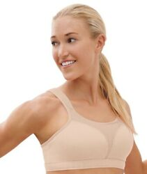 Champion 1602 Sport Comfort Double Dry High Impact Sports Bra 36DD Nude $39.83
