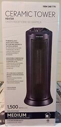 Electric Ceramic Tower Space Heater Oscillating $24.00