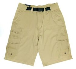 Mens Belted Cargo Shorts $17.46