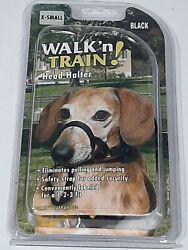 Halti Dog Headcollar Size 0 Miniature Dachshunds Toy poodles Yorkies black $13.50