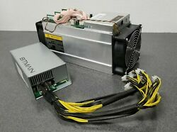 Bitmain Antminer S9 Bitcoin Miner 13.5TH ASIC Miner w APW3 PSU Included USED $449.95