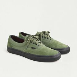 NIB Vans OFF THE WALL for J.Crew Men#x27;s Suede Green Sneakers Sz.8 Shoes #M1983 $49.99