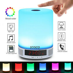 7 Modes Touch Table Lamp Desk Bedside Night Light Bedroom Nightstand Home Decor $11.98