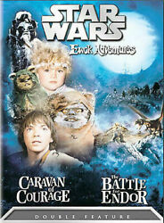 STAR WARS EWOK ADVENTURES: CARAVAN OF COURAGE - THE BATTLE FOR ENDOR (DVD 2004)
