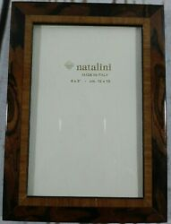 Natalini Hand Crafted Marquetry Wood Picture Photo Frame Made in Italy 4