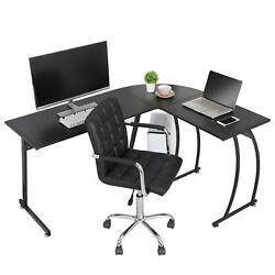 Modern L Shaped Corner Computer Desk PC Laptop Study Table Workstation Home  $97.99
