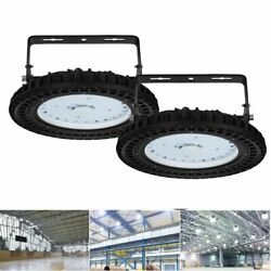 2 x 100W UFO LED High Bay Light Warehouse Fixtures Industry Commercial Shed Lamp $77.49