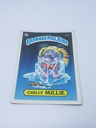 1985 TOPPS GARBAGE PAIL KIDS CHILLY MILLIE CARD #32B 1ST SERIES GLOSSY 2 STAR $10.36
