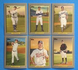 2009 Topps TURKEY RED . Complete Set #1-50 . BABE RUTH , MIGUEL CABRERA , VOTTO $18.74