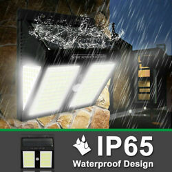 208LED Solar Powered Light Outdoor PIR Motion Sensor Garden Security Wall Lamp $16.73