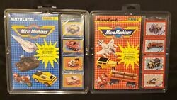 Vintage 1989 Micro Machines Micro Cards Series 1 amp; 2 New Sealed $18.95