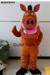 Factory Sale Handmade Cartoon Pig Mascot Costume Adult Cosplay Party Carnival $222.38