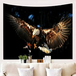 Wall Tapestry Home Decor Hanging Living Printing Wall Carpet Eagle Printed $16.90