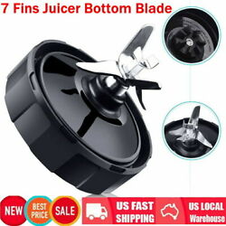 7Fin Extractor Blade Blender Replacement Parts For Nutri Ninja Juicer 1000 1500W $11.11