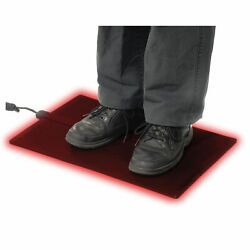 Cozy Products Heated Floor Mat Black 21