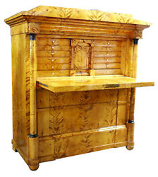 #6275 Rare Antique Biedermeier Style Desk c1880 $8000.00
