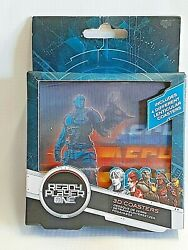 Ready Player One 3D Lenticular Coasters NEW Paladone Set of 4 Different Designs $16.95