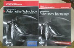 Fundamentals of AUTOMOTIVE TECHNOLOGY TEXTBOOK and WORKBOOK NEW  $19.95