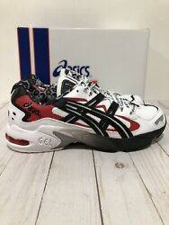 New Asics Gel Kayano 5 OG Men Shoes Sneakers 1021A182 100 White Black Size 8.5
