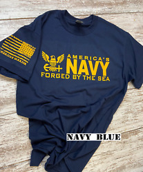 US Navy t-shirt featuring new Navy Logo 00 $16.95