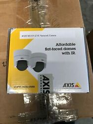 Axis M3105-LVE Indoor/Outdoor Netowork Security Camera System - White $175.00