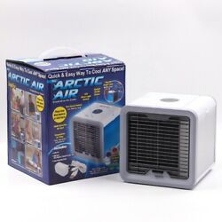 Arctic Portable Mini Air Cooler Fan Air Conditioner Cooling Fan Humidifier AC $19.99