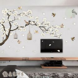 3D Home Flower Tree Wall Sticker Acrylic Decal Mural Bedroom Living Room Decor $3.99