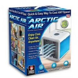 Personal Space Portable Mini Air Conditioner Cooling Air Fan Humidifier Purifier $19.99