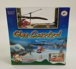 Glee Carnival Mini Small Helicopter Santa Clause Battery Flying Toy New No 608 $46.39