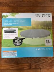 Intex UV Resistant Deluxe Debris Cover for 18 FT For Ultra Frame Swimming Pools $89.99
