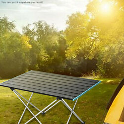 Portable Folding Table for Outdoor Camping Lightweight Aluminum Mini Picnic Desk $31.34